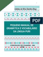 Pequeno Manual e Dicionário da Língua Puri