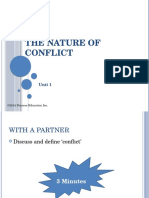 The Nature of Conflict-Introdfduction
