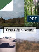Comunidades Ecosistemas