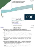 Analysis Petersson NotchedBeam