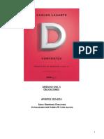 Apuntes D. Civil-II, Contratos. SoniaModificados