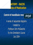 Neural Control of Mastication