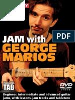 Jam With George Marios Tab Book