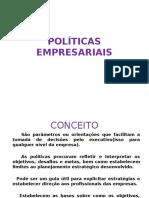 Aula 6 Políticas Empresariais