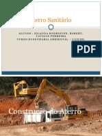 Projeto Aterro Sanitário