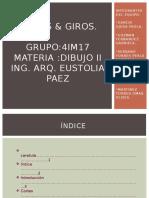 Cortes & Giros DIBUJO TECNICO