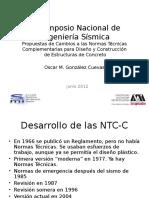 Propuestas de Cambios a las Normas Técnicas Complementarias para Diseño y Construcción de Estructuras de Concreto