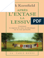 Après l'Extase, La Lessive -JACK KORNFIELD