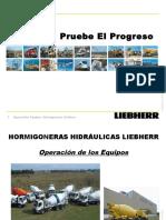 Betoneiras Liebherr PL 710-Espanhol