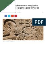 Cientistas Descobrem Como Os Egípcios Moveram Pedras Gigantes Para Formar as Pirâmides _ Universo Racionalista