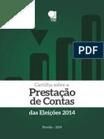 Tse Cartilha Prestacao de Contas Eleicoes 2014