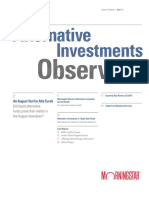 Alternative Investment Observer
