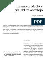 Guerrero_Insumo-producto y Teoría Del Valor-trabajo