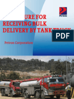 Tank Truck Receiving  Petron
