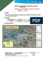Granizada Afecta Al Distrito de San José