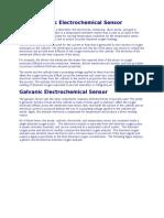 Polarographic Electrochemical Sensor