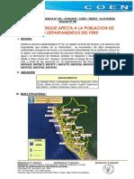 Brote de Dengue Afecta a La Poblacion de Peru