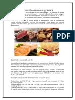Alimentos Ricos Em Gordura