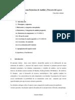 Contribuciones Para Una Estructura de Análisis y Proyecto Del Espacio Social en Arquitectura.