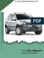 Manual de Usuario Ford Ecospor