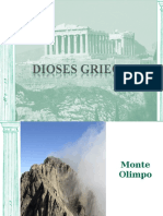 Ppt Dioses Griegos