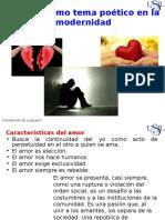 SEMANA 10 1 El Amor Como Tema Poetico en La Modernidad.pptx