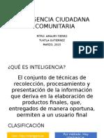INTELIGENCIA CIUDADANA