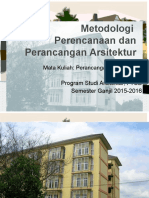 Metodologi Perancangan Arsitektur