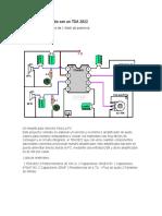 Amplificador de Audio Con Un TDA 2822