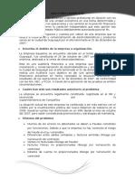 Ejemplo de AUDITORÍA FINANCIERA