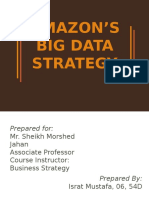 Amazon's Big Data Strategy