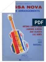 288772989 Bossa Nova Guitar Arrangements