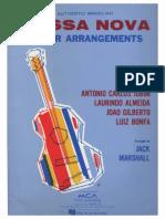 288772989 Bossa Nova Guitar Arrangements