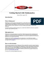 Mathematica Manual