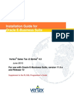STQ 40 PLSQL Installation Guide for Oracle EBusiness Suite