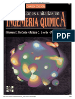 Operaciones Unitarias en Ingenieria Quimica