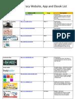 digital lit resource list  1   1