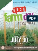Open Farm Day Passport 2016