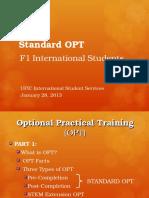OPT Presentation