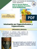 Intoxicación Por Organofosforados y Organoclorados.