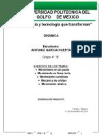 EJERCICIOS RESUELTOS DE DINAMICA