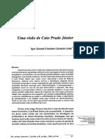 Caio Prado Jr - uma visão