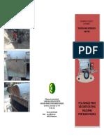 Brochure Flyer - Deco Machine for Buko