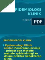 EPIDEMIOLOGI KLINIK 1