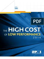PMI Pulse of the Prof 2014_The High Cost of Low Performance