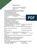 100 Câu Hỏi Trắc Nghiệm Địa Lý 12