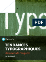 Tendances Typographiques