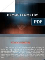 Hemocytrometry Group 9C