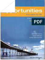 pre students opportunities new book intermediate