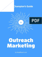 The Champion's Guide to Outreach Marketing